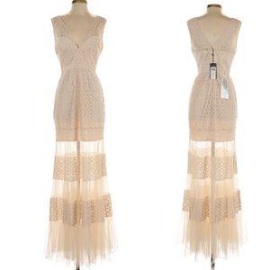 Maxi lace BCBGENERATION Maxazria dress NWT